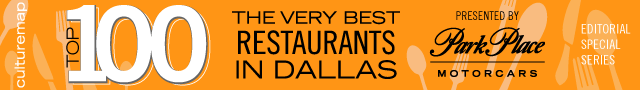 Top 100 Restaurants in Dallas 2016