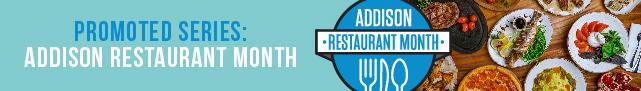 Addison Restaurant Month